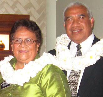 President  & Sister Kaufusi
