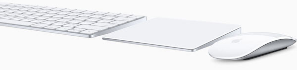 「Magic Mouse 2」「Magic Trackpad 2」「Magic Keyboard」