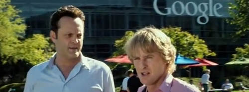 Vince Vaughn and Owen Wilson in The Internship
