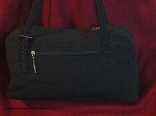 Вязаная крючком сумка