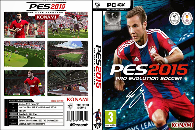PRO EVOLUTION SOCCER 2015 PT-BR - PC