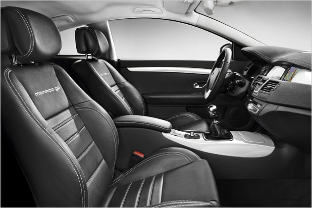 Renault Laguna Coupé interior Monaco Gp