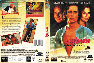 Carátula, cover, dvd: Don Juan DeMarco | 1995