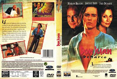 Carátula, cover, dvd: Don Juan DeMarco   1995