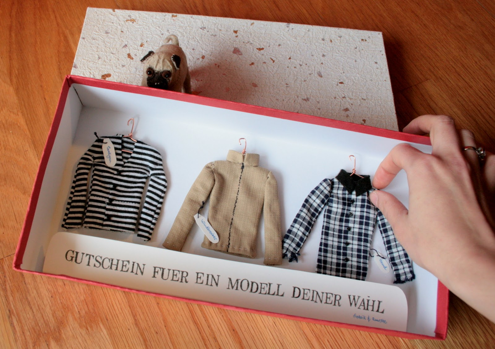 nette: DIY Gift Voucher for a self-made garment
