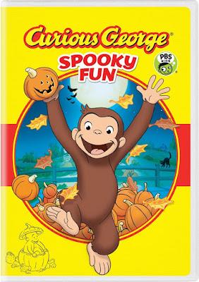 Curious George Spooky Fun 2017 DVD R1 NTSC Latino