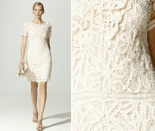 Battenberg Lace Wedding Dresses