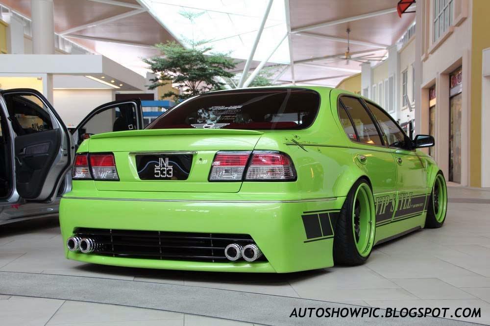 VIP style Cefiro rear