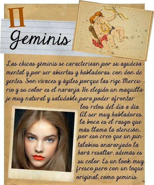 Maquillarse segun tu signo zodiacal, Geminis