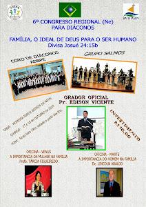 6º CONGRESSO PARA DIÁCONOS DE TODO NORDESTE