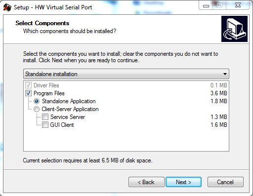 serial port emulator windows 8