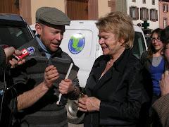 Jean VOGEL et Eva JOLY 13 mars 2012
