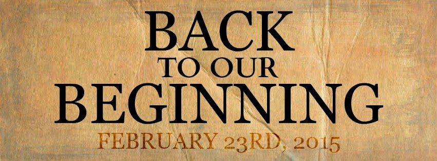 Back To Our Beginning Release Day Blitz