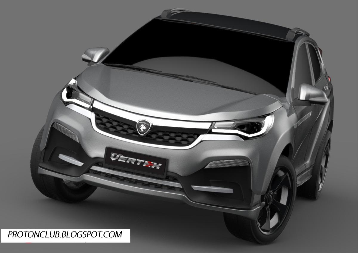 PROTON VERTEX - MODEL SUV PROTON 2017 - ProtonClub Automotive
