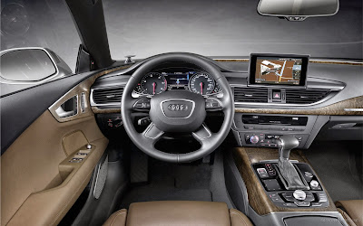 Interior del Audi A7