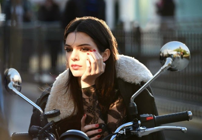 Kendall Jenner's Estee Lauder Campaign