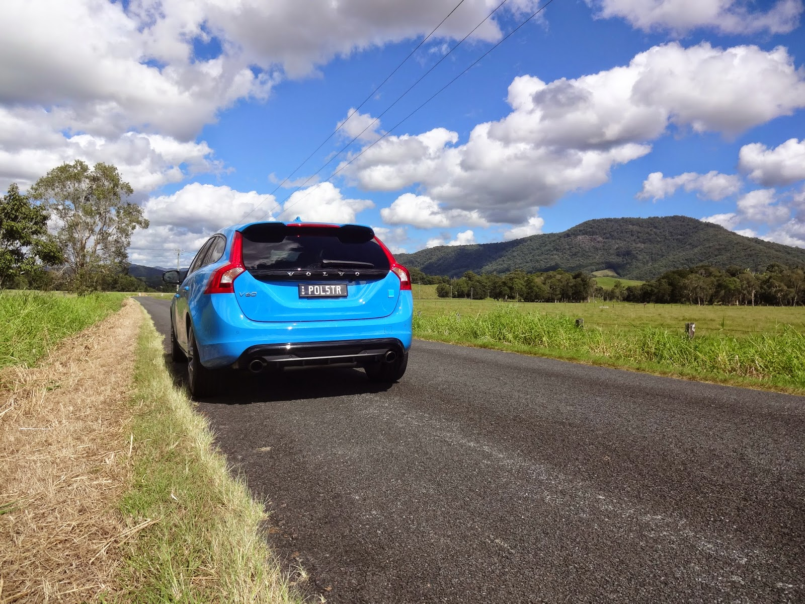 Volvo V60 Polestar the perfect wagon for Northern Rivers back roads