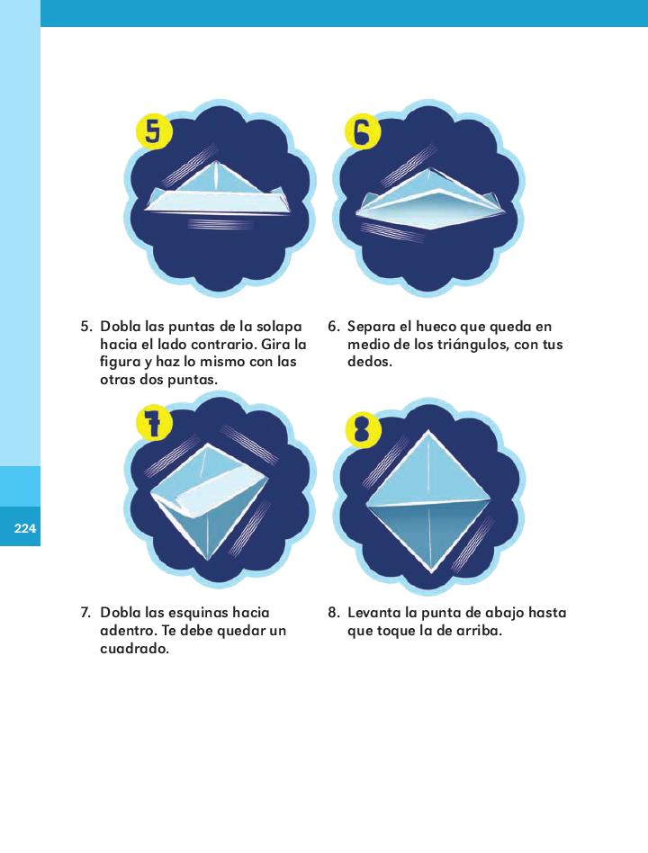 ¡vamos a hacer un barquito de papel! español 2do bloque 5/2014-2015