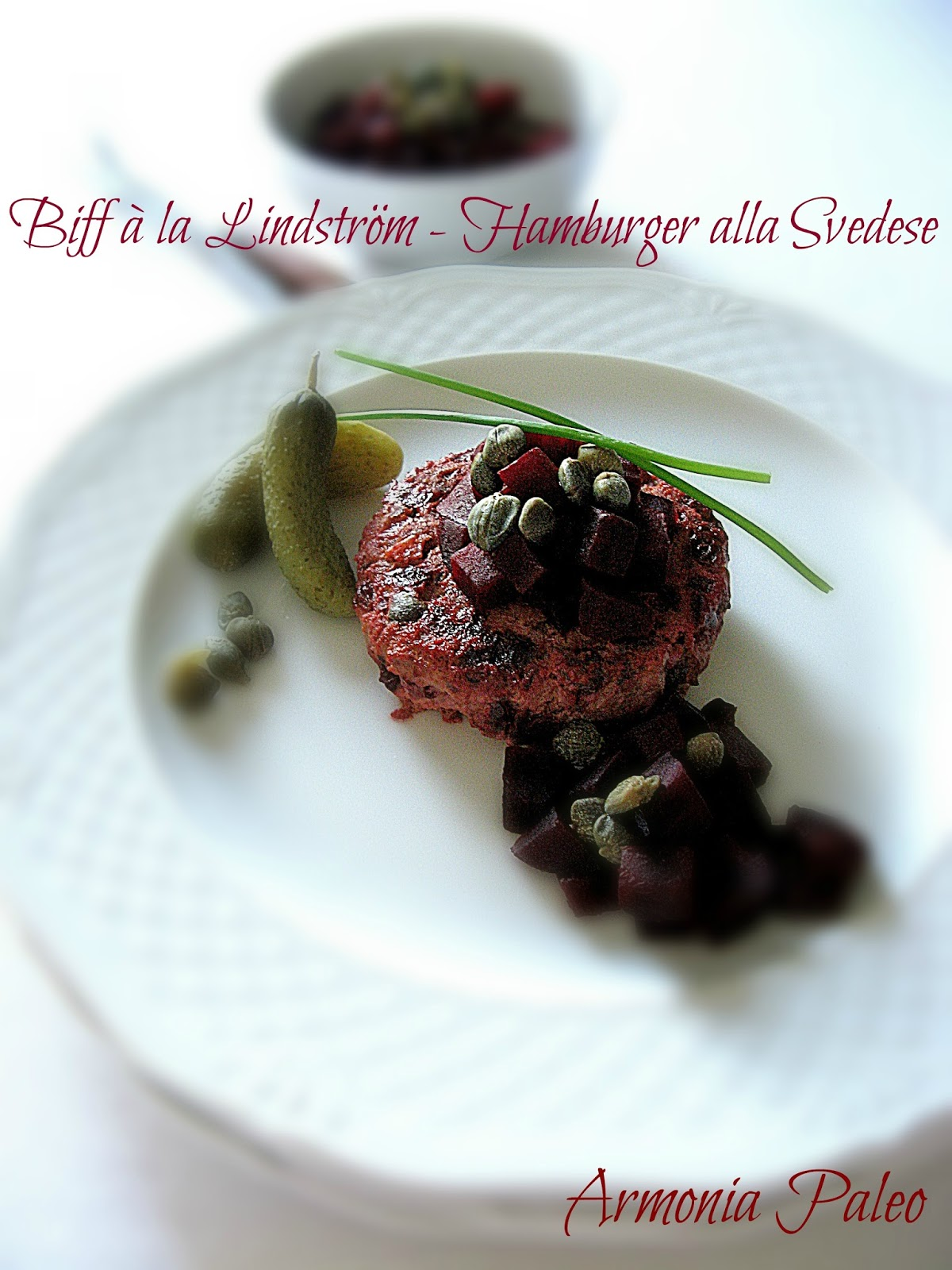 biff à la lindström - hamburger alla svedese