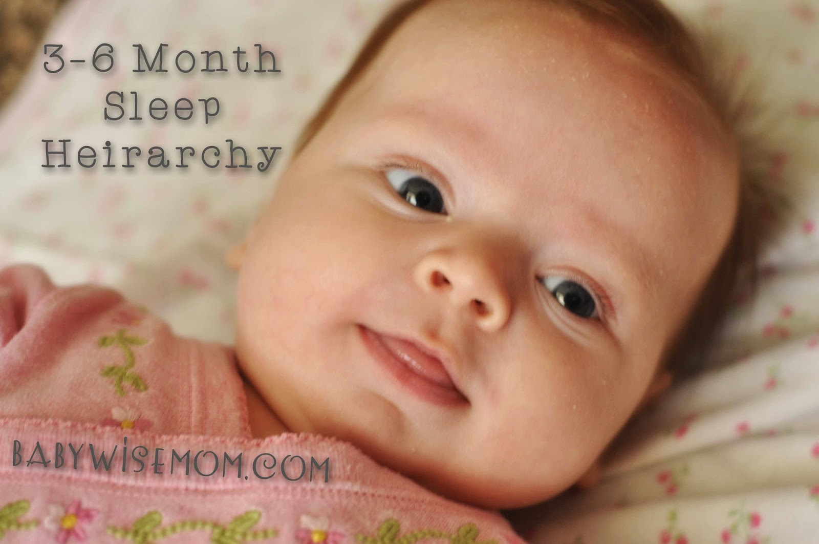 Sleep Hierarchy: 3-6 Months