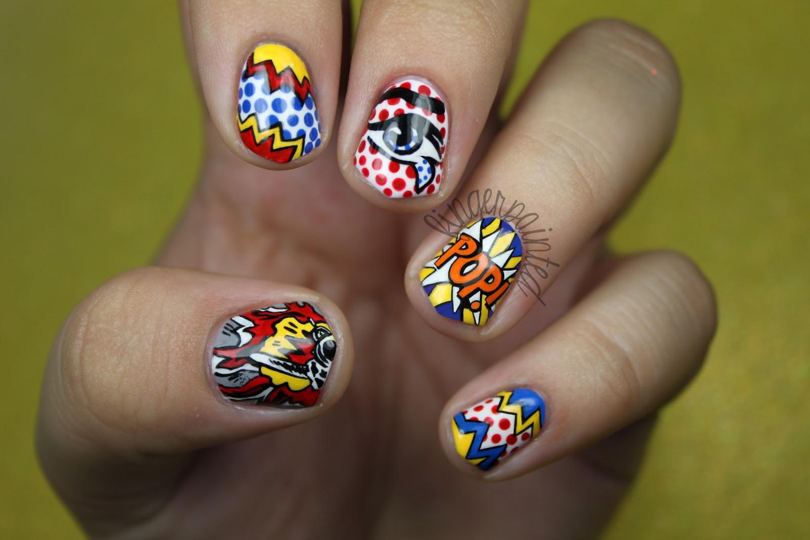 Маникюр нейл арт рисунки на ногтях