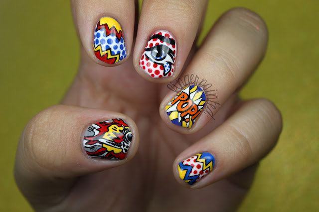 The One With The Pop Art Nails!!