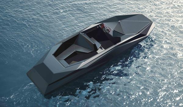 Z-Boat: Designer Zaha Hadid's