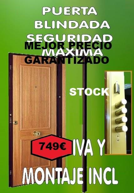 Puertas y maderas gasca mobiliario a medida y reformas - Puerta blindada precio ...