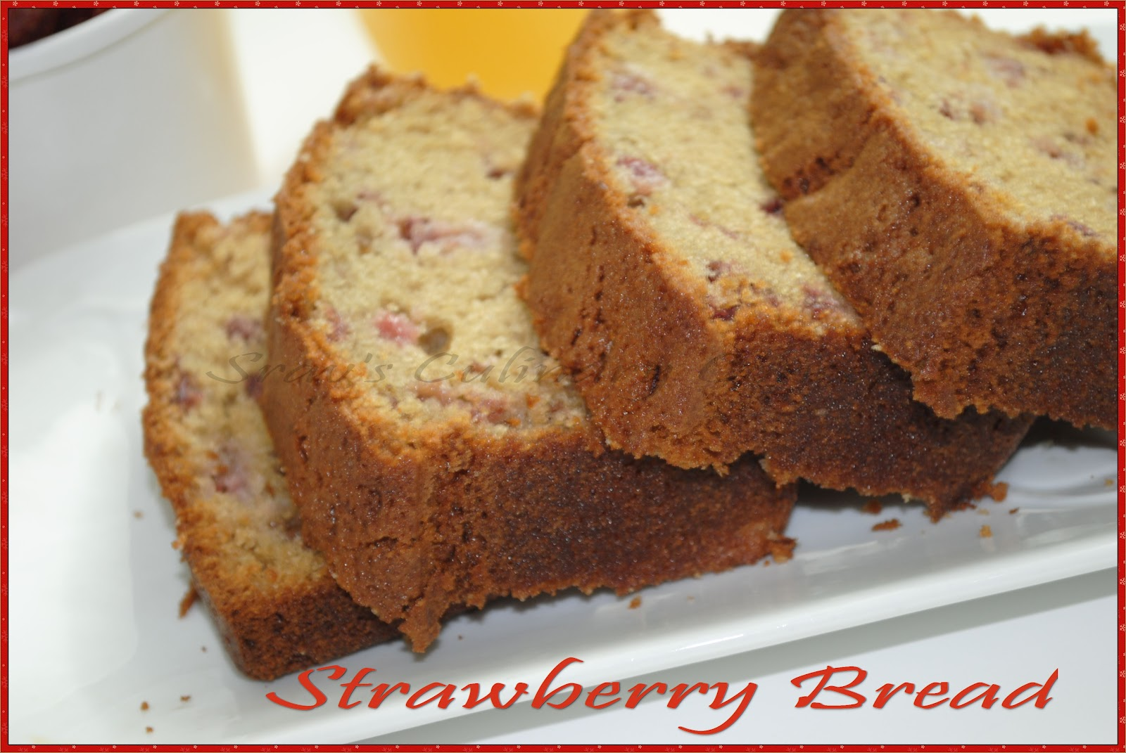 and this healthy Strawberry bread is prepared with Strawberries ...