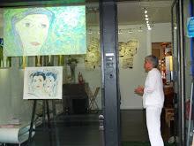"""Exposición personal """"La femme enfumée"""""""