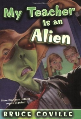 my teacher is an alien Description sixth grade is just out of this world susan simmons can tell that her new substitute teacher is really weird but she doesn't know how weird until she catches him peeling off his face—and she realizes that mr smith is really an alien.
