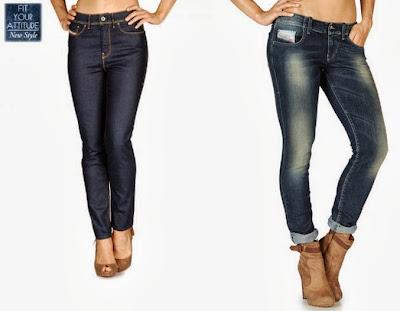 Diesel - calças femininas