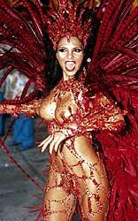 Rio Carnival, Model Fabia Borges