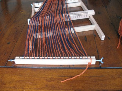 Removing the warp from the warping post