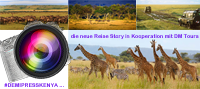 Fotostory in Kenia, in Kooperation mit DM Tours