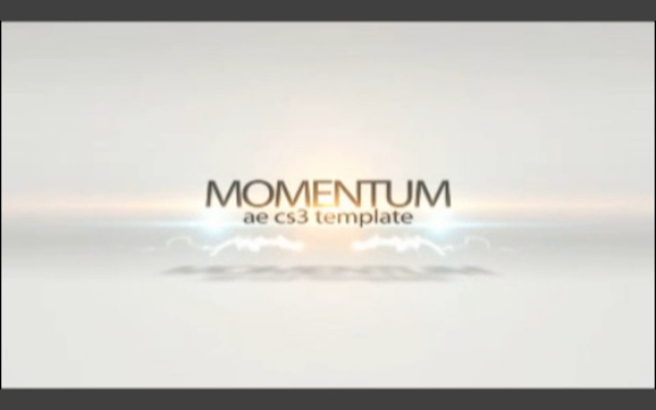 Momentum After Effects Template
