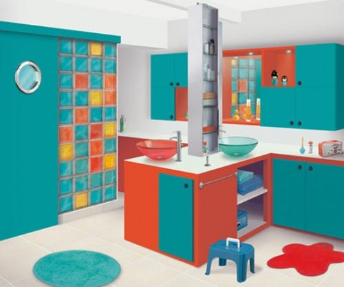 Diseno De Baños De Ninos:Decora el hogar: Decoración de baños para niños