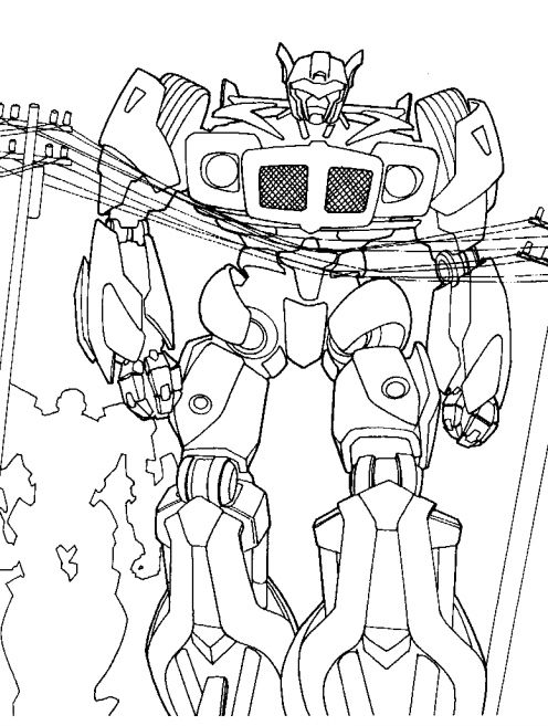 transformer gears coloring pages - photo#17