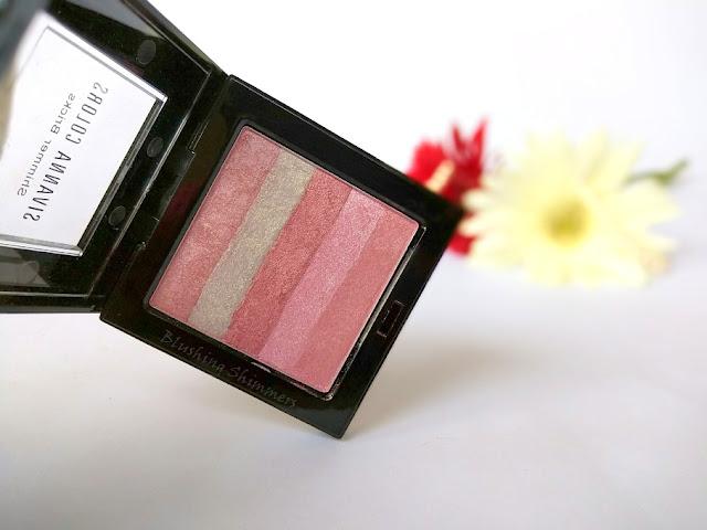Sivanna Colours Shimmer Bricks Shade 06 pink