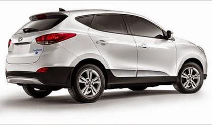 2016 Hyundai IX35 Tucson Rear