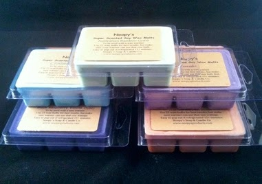 triple scented wax tarts