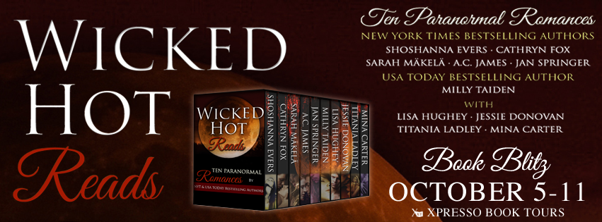 Book Blitz: Wicked Hot Reads: 10 Paranormal Romances Boxed Set
