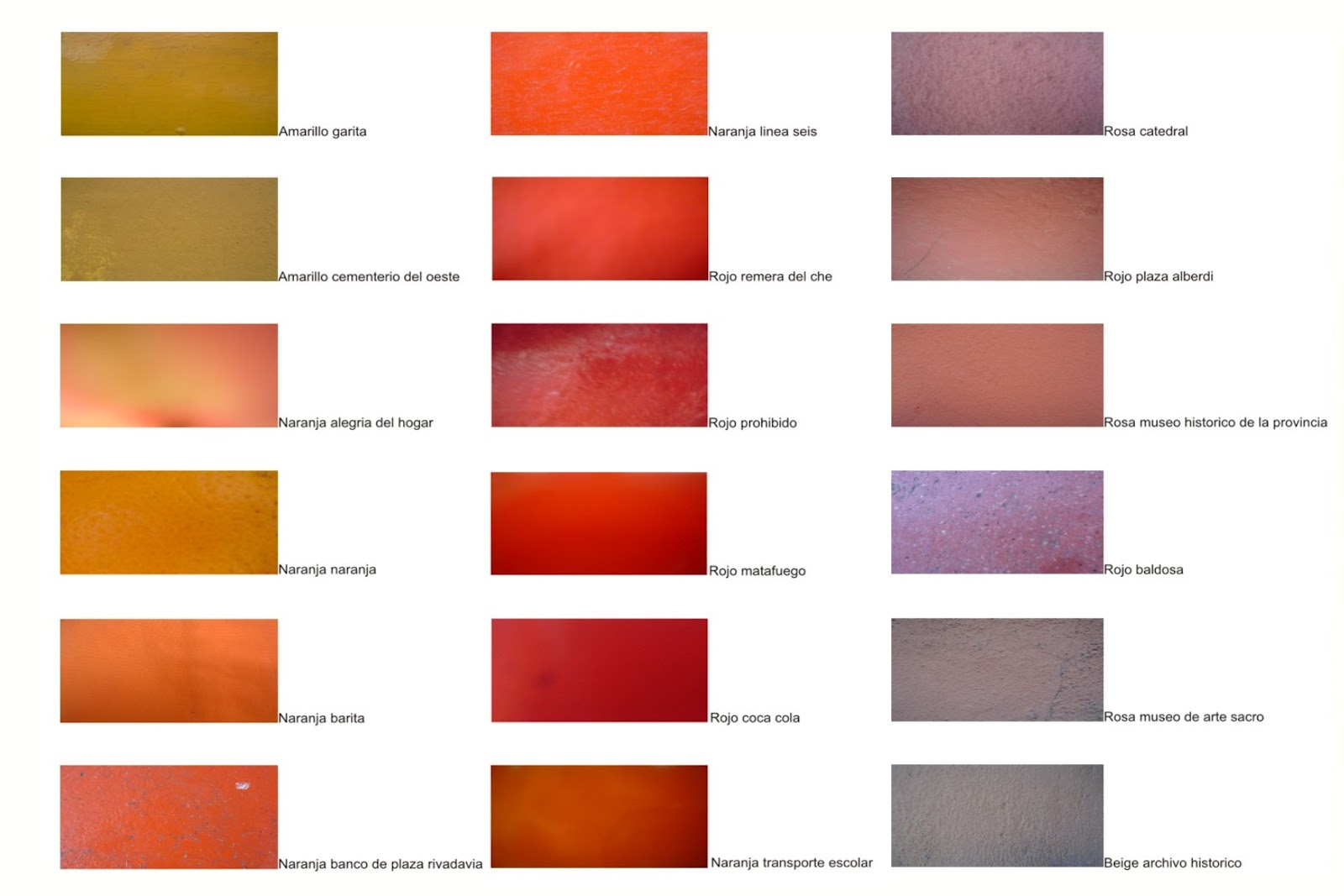 Muestrario de colores imagui for Muestrario de colores