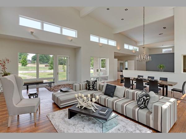 Diseño de interiores & arquitectura: rancho contemporáneo en texas ...