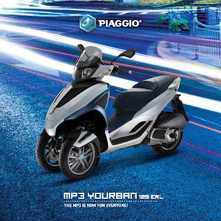 Harga Terbaru Piaggio MP3 YOURBAN Agustus 2013