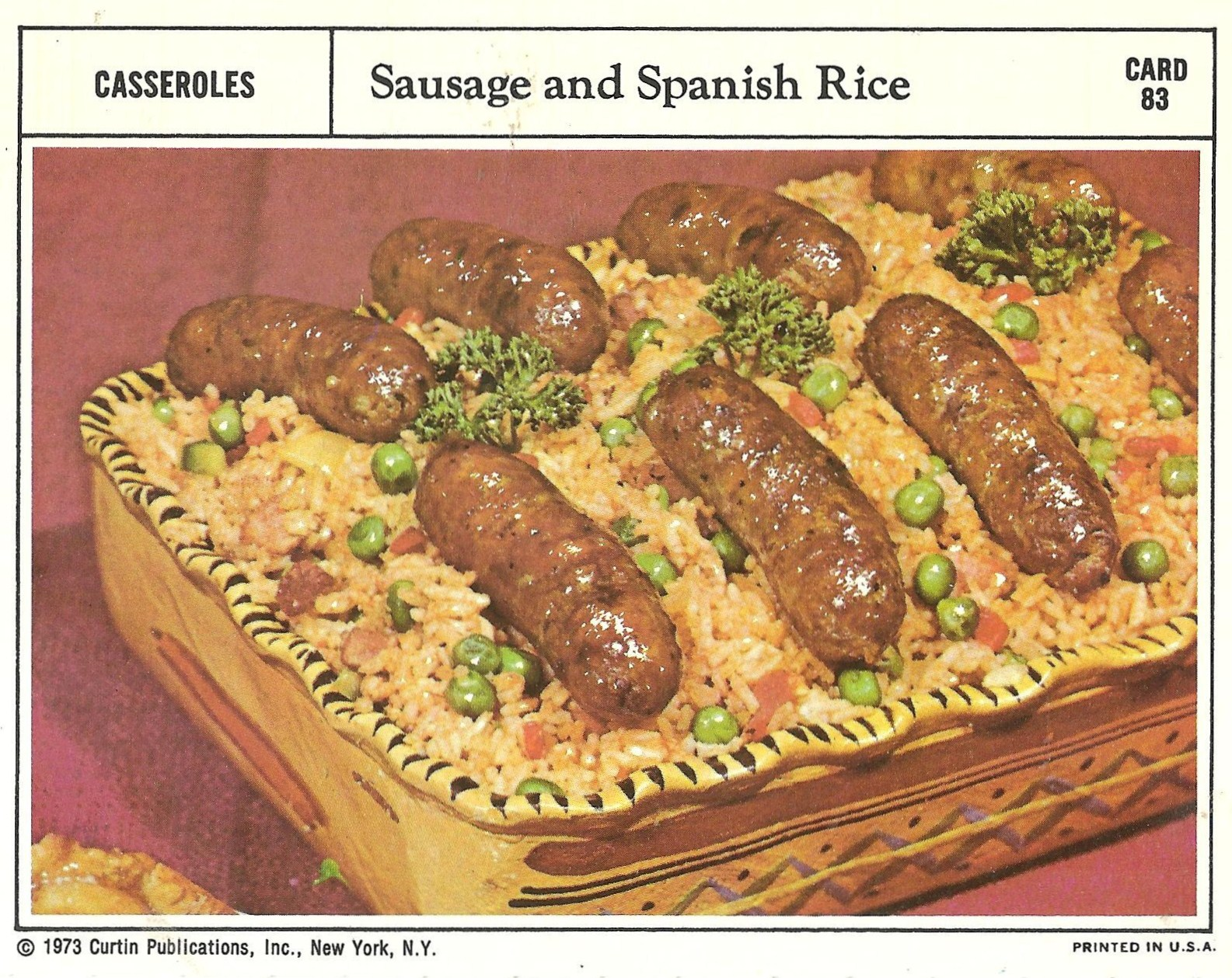 Bad and ugly of retro food the epitome of 1970s food recipe perfectly formed turds atop a bed of maggots and peas who didnt predict that one forumfinder Gallery