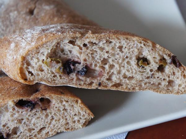 glutenfreies Olivenbaguette von Schnitzer