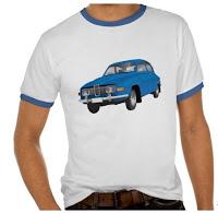 Saab 96 t-paidat t-skjortor tshirts
