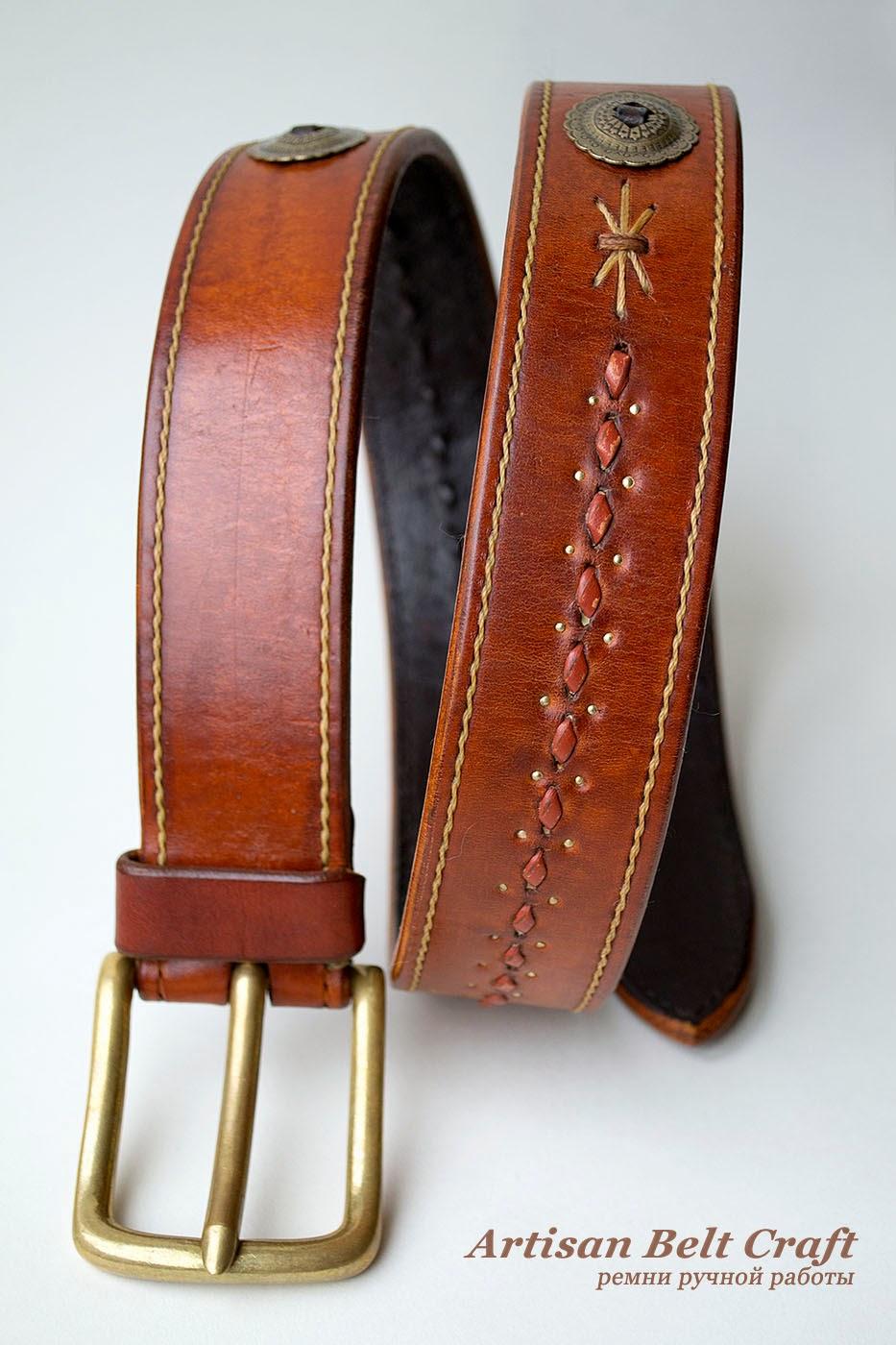 кожаный ремень фото