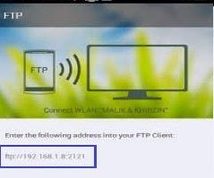 Transfer Data Smartphone OPPO ke Komputer Menggunakan FTP